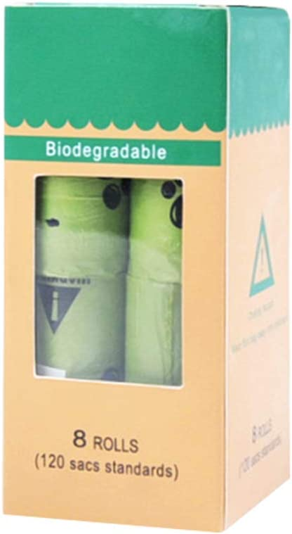 R-WEICHONG Bolsa de Basura ecológica, Biodegradable, para Perros ...