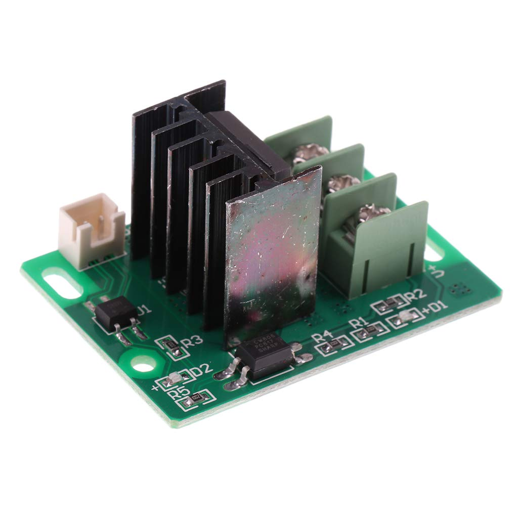 B Blesiya 3D Printer Heat Bed Mosfet Tube Hot Bed Power Module Expansion Accessories
