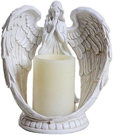 Bapteme 1 Bougie Ange Blanc 7 Cm Décoration table Mariage Noël