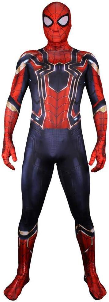 DWYRD Spiderman Adulto Niño Disfraces Cos Costume Halloween ...