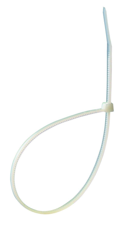 Profile 205351400 Collier 150 x 3.6mm 100 pi/èces Blanc,