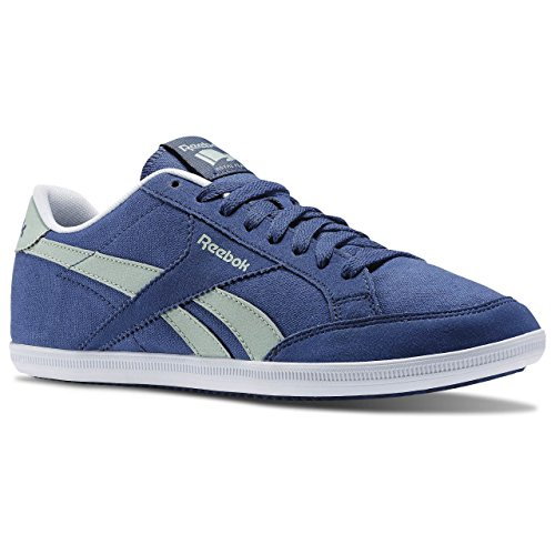 Reebok Royal Transport Tx, Zapatillas de Deporte Para Hombre Azul / Verde / Blanco (Midnight Blue / Sage Mist / White)