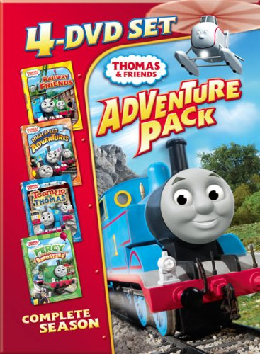 Thomas Amp Friends Four Disc Adventure Pack Buy Online In Uae Dvd Products In The Uae See Prices Reviews And Free Delivery In Dubai Abu