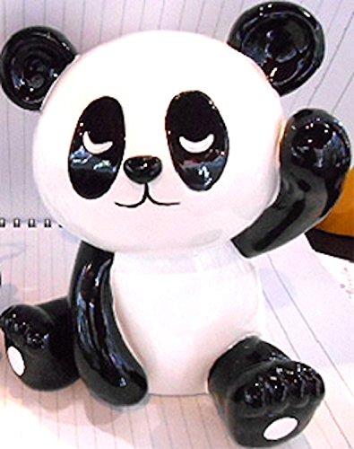 Small Happy Panda Bear Piggy Bank - 6