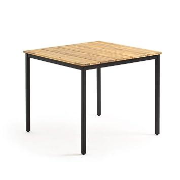 La Redoute Interieurs Table de Jardin carrée Hiba: Amazon.fr ...
