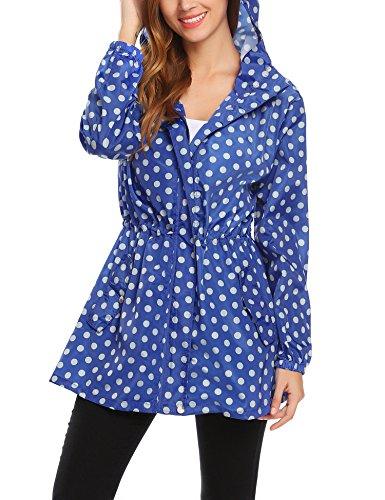 zip up rain coat - 4