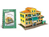 CubicFun W3113h Italy Traditional Residence 3d Puzzle, 26 Pieces