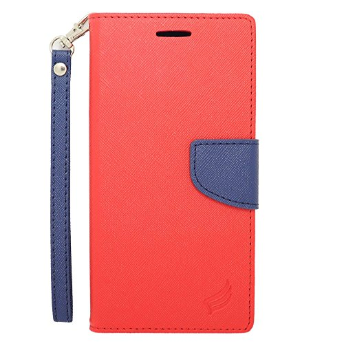 iPhone 6 Plus/6s Plus Case, Insten Stand Folio Flip Leather [Card Slot] Wallet Flap Pouch Case Cover for Apple iPhone 6 Plus/6s Plus, -