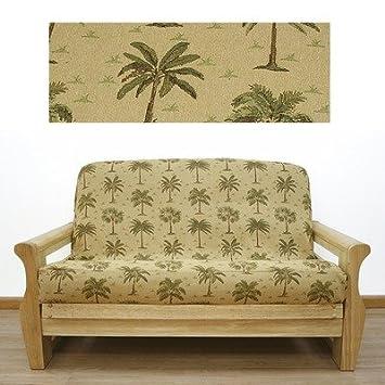 Superb Amazon Com Easy Fit 21 622 Desert Palm Futon Cover Size Alphanode Cool Chair Designs And Ideas Alphanodeonline