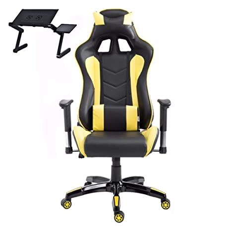 Fabulous Amazon Com Easynet Pc Gaming Chair Desk Chair For Gaming Ibusinesslaw Wood Chair Design Ideas Ibusinesslaworg