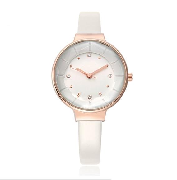 Relojes de moda para mujer, de lujo, resistente al agua, de cuarzo,