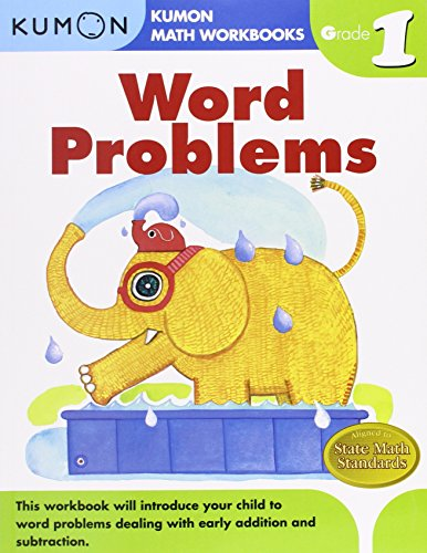 Word Problems Grade 1 (Kumon Math Workbooks)