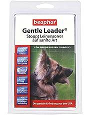 Gentle Leader® dla psów | pomoc w rozpoznawaniu dla maszynek do cięcia lnu | lepsze prowadzenie i kontrolowanie | obroża treningowa dla psów | kolor: czarny | rozmiar L