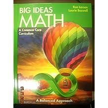 BIG IDEAS MATH: Common Core Student Edition Green 2014