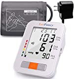 """Upper Arm Blood Pressure Monitor, Upper Arm Cuff (13-17""""), 180 Readings 2 Users"""