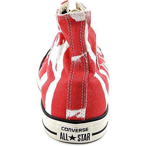 Snakke Til Menn: All Star Hi Blekemiddel Rød Sneaker Rød