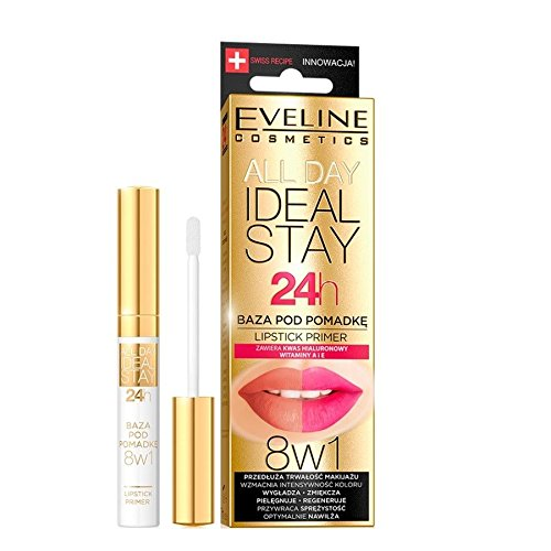 Eveline todos ideal Stay 24H Pintalabios primer 8 in1 7 ml