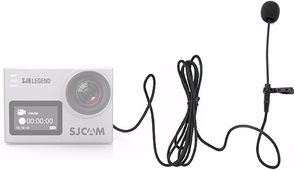 Cable Length: 142cm Original SJCAM Accessories External Microphone MIC for SJCAM SJ6 Legend //SJ7 Star //SJ360 Sports Mini Camera