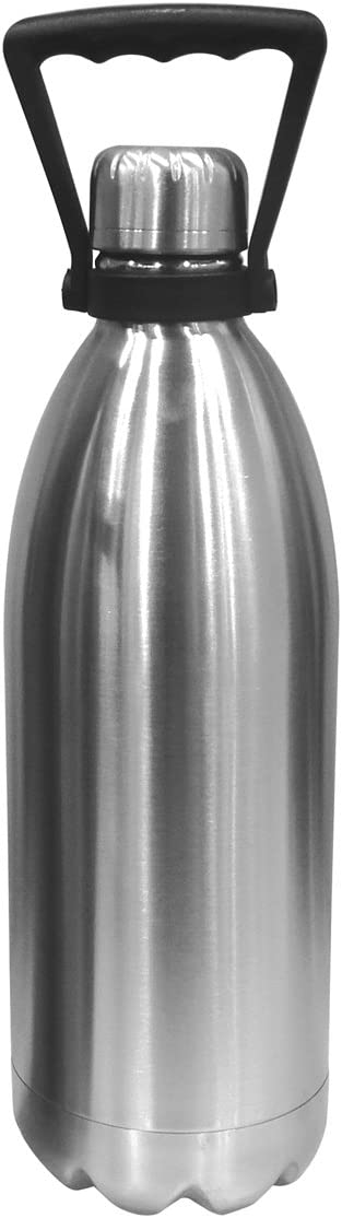 Oggi Stainless Steel Double Walled Beer Growler, 56-Ounce