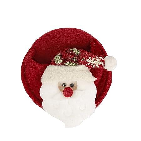 WWDKF Decoraciones de Navidad montañas Rusas de Vino Tinto Puede ...