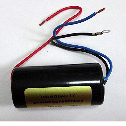 ConPus 12V Noise Filter Hum Killer Engine Supressor Power Wire AD186 ()