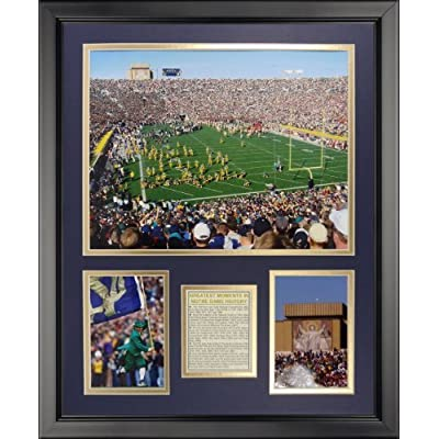 "Legends Never Die Notre Dame Stadium Framed Photo Collage, 16"" x 20"" by Legends Never Die"