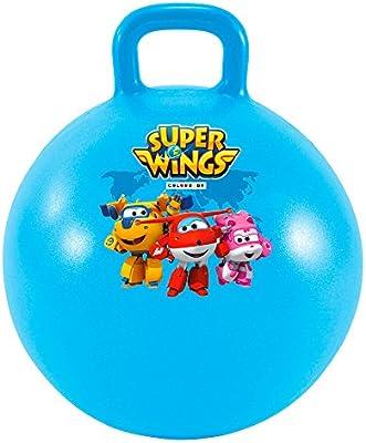 Super Wings - Pelota Saltarina 45 cm diámetro (ColorBaby 77016 ...