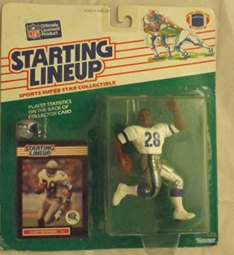 1989 Curt Warner Seattle Seahawks Football-NFL Starting Lineup Figure ()