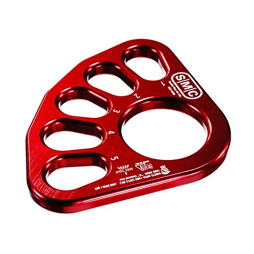 SMC Large Rigging Plate. Red - Smc Plate Rigging