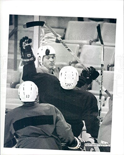 Vintage Photos Undated Press Photo NHL Boston Bruins HOF Ray Bourque - snb7559