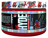 ProSupps Mr. Hyde NitroX Pre-Workout Powder Energy Drink - Intense Sustained Energy, Pumps & Focus with Beta Alanine, Creatine & Nitrosigine - 15 True Servings (Blue Razz Popsicle Flavor)