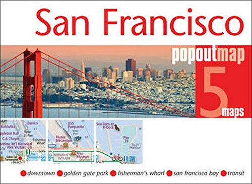 San Francisco PopOut Map (PopOut Maps)