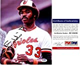 Eddie Murray Signed - Autographed Baltimore Orioles 8x10 inch Photo - PSA/DNA Certificate of Authenticity (COA)