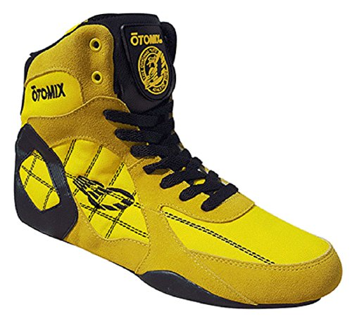 Otomix Men's Ninja Warrior Bodybuilding Boxing Weightlifting MMA Shoes Yellow 9.5