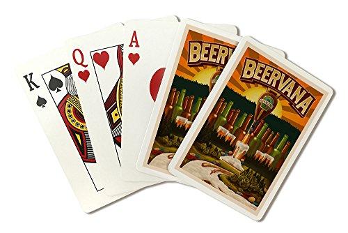 (Spokane, Washington - Beervana Tap (Playing Card Deck - 52 Card Poker Size with Jokers))
