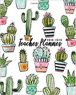 picture about Teacher Plan Books referred to as Instructor Planner 2018-2019: Lesson Planner and History Ebook