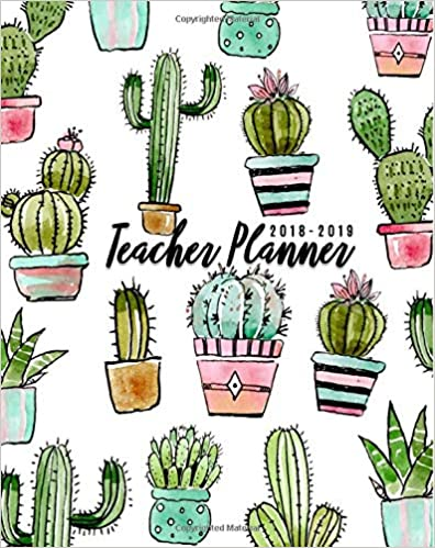 Teacher Planner 2018-2019: Lesson Planner And Record Book For Teachers 2018-2019| Weekly And Monthly Teacher Planner | Academic Year Lesson Plan And ... July 2019) PDF Descargar