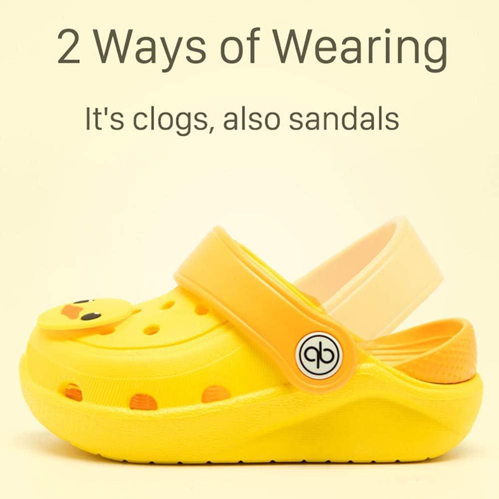 dripdrop Girls Comfort Clogs Toddler Slip On Garden Slippers Kids Water Sandals Lightweight Boys Summer Pool Beach Shoe Toddler//Little Kids