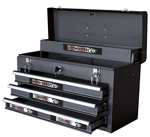 "Chroma Graphics 9025 Magnetix Black/Red/Silver 6"" x 8"" Toolbox Identification Label Kit"