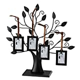 Elegance 63516 Family Tree Photo Frames and Card Holders, Silver