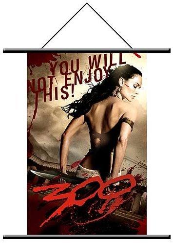 300 Queen Gorgo Wall Scroll