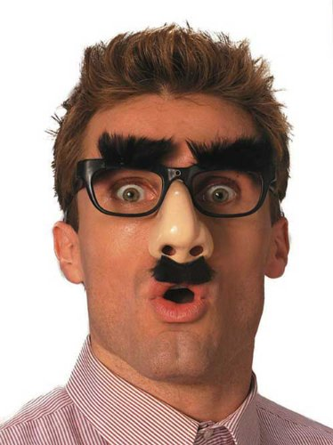 R677C Groucho Glasses Dlx Mr (Adult Deluxe Vision Costumes)