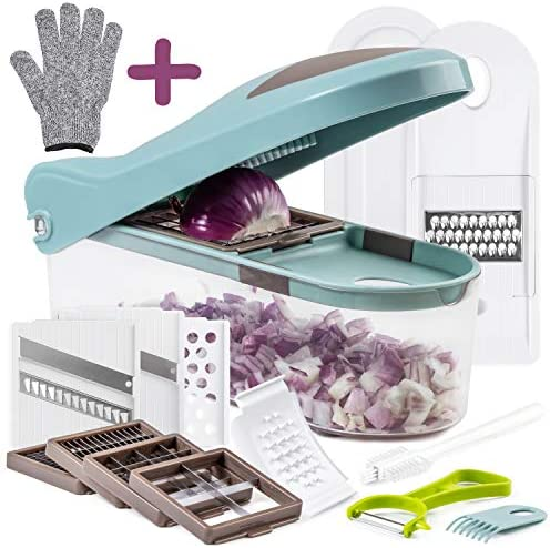 Multiple Vegetable Chopper Mandoline Slicer
