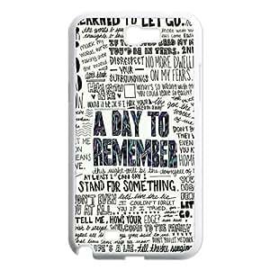 DIY Hard Back Phone Case YU-TH91868 for Samsung Galaxy Note 2 N7100 w/ A Day to Remember by Yu-TiHu(R)