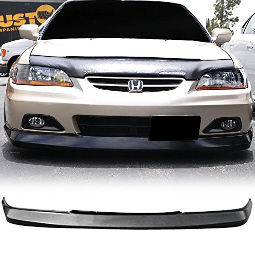 01-02 Honda Accord 2 Door Coupe OE-Type Front Bumper Lip Spoiler Poly Urethane (Front Spoiler Honda Accord)