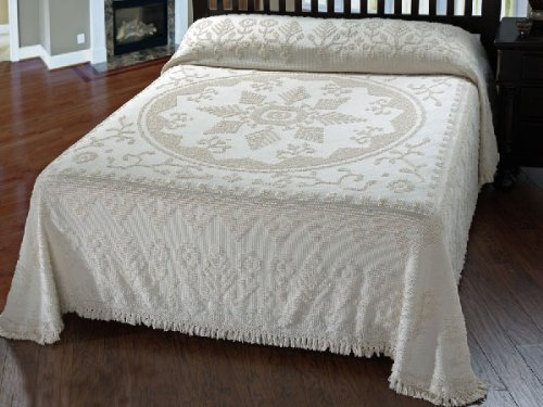 Maine Heritage New England Tradition Bedspread - Twin - White