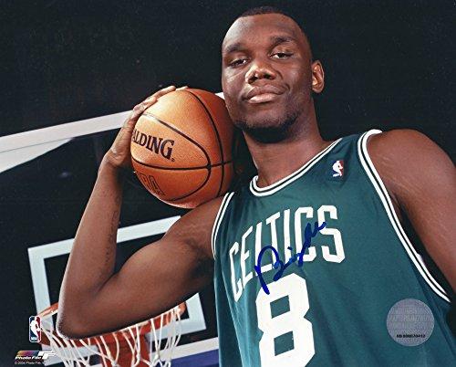 Autographed Al Jefferson 8x10 Boston Celtics Photo W/coa