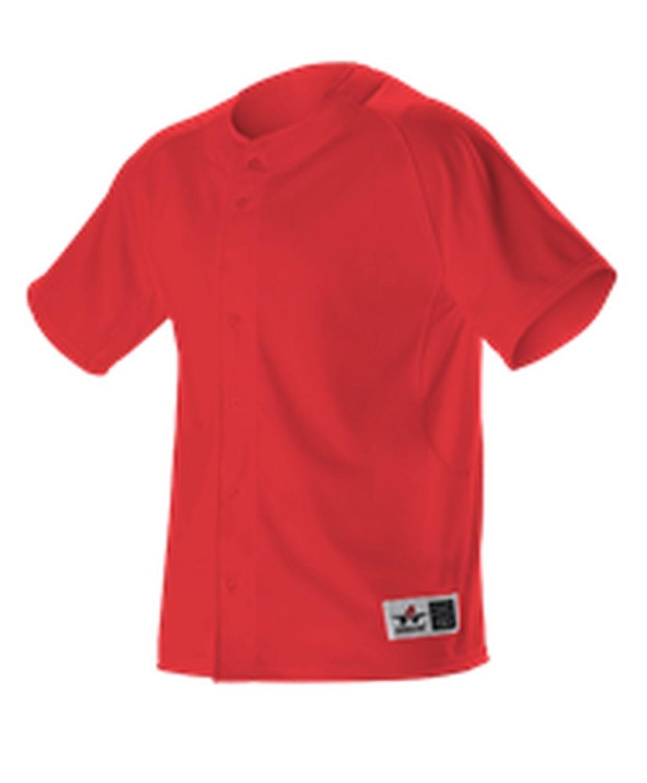Alleson Athletic SHIRT ボーイズ B075CBVS24スカーレット X-Large