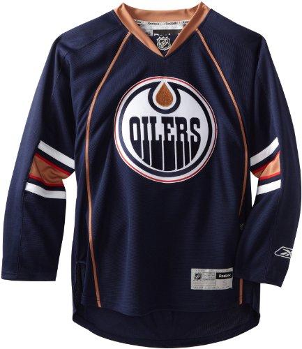 NHL Edmonton Oilers Premier Jersey, Blue/Orange/White, ()