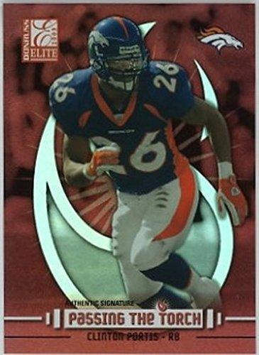2003 Donruss Elite Passing the Torch #PT5 Clinton Portis NM-MT /1000 Broncos ()